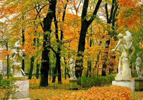 باغ تابستانی سنت پترزبورگ