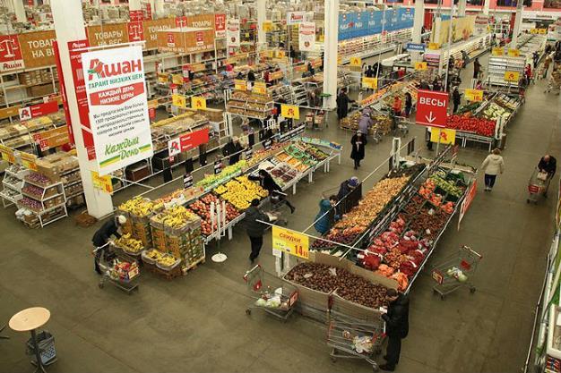 مواد غذایی در روسیه
