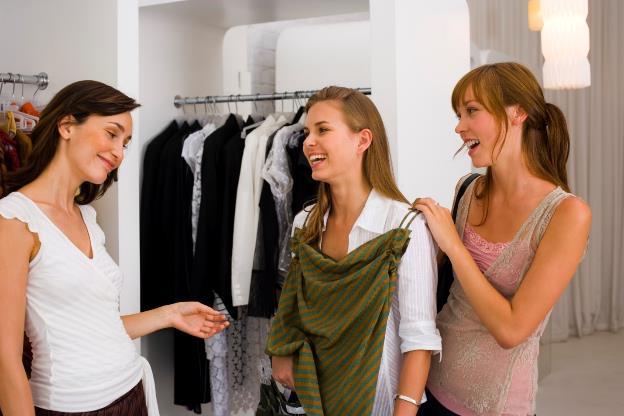 خرید لباس در روسیه