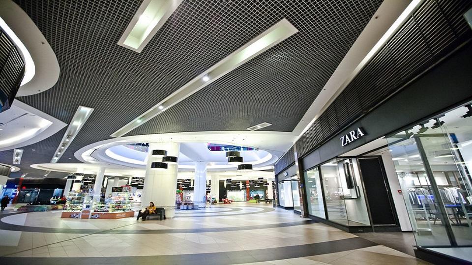 نمای داخلی مرکز خرید Leto