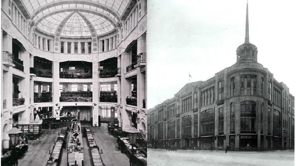 عکس قدیمی مرکز خرید DLT در سنت پترزبورگ