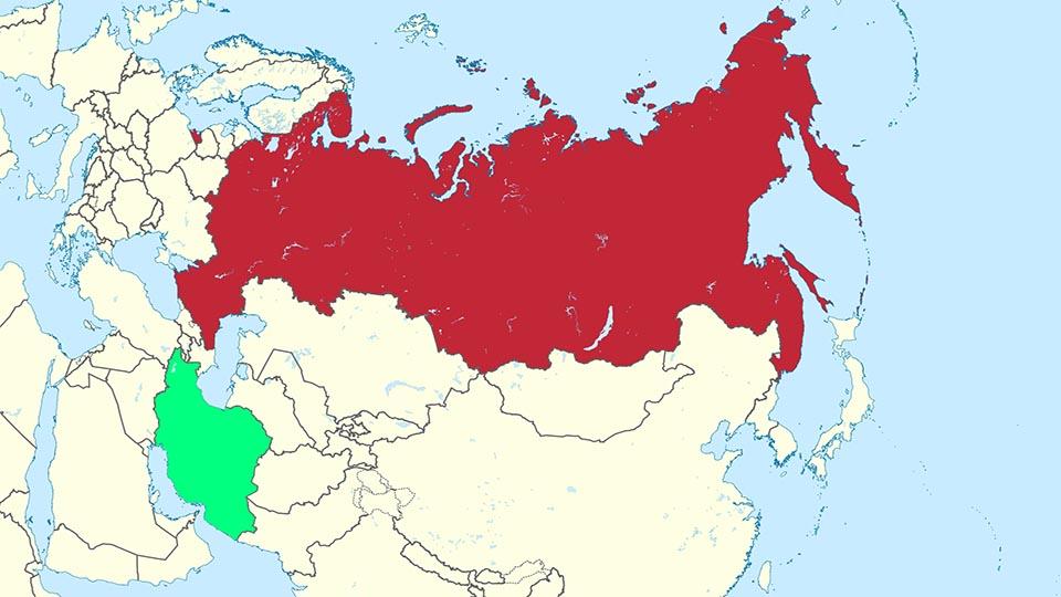 مساحت روسیه