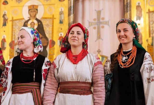 پوشش مردم روسیه در چچن