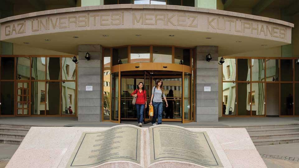 کتابخانه دانشگاه قاضی آنکارا