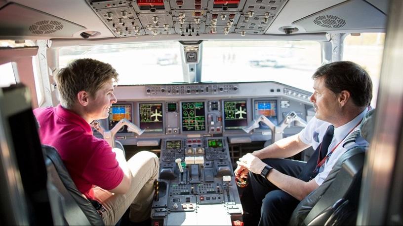فارغ التحصیلان دانشگاه هوانوردی ترکیه