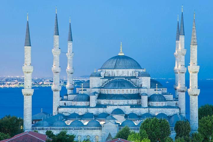 مسجد آبی مسجد در ترکیه