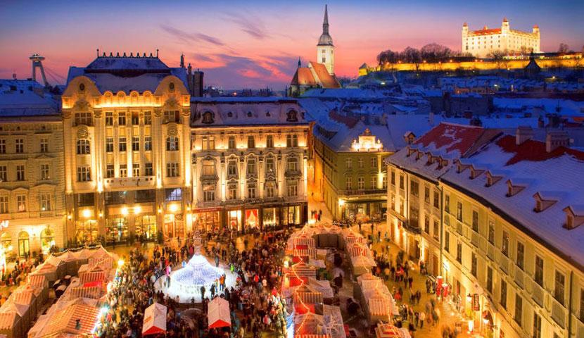 براتیسلاوا، اسلواکی (کشور سفر تابستان)