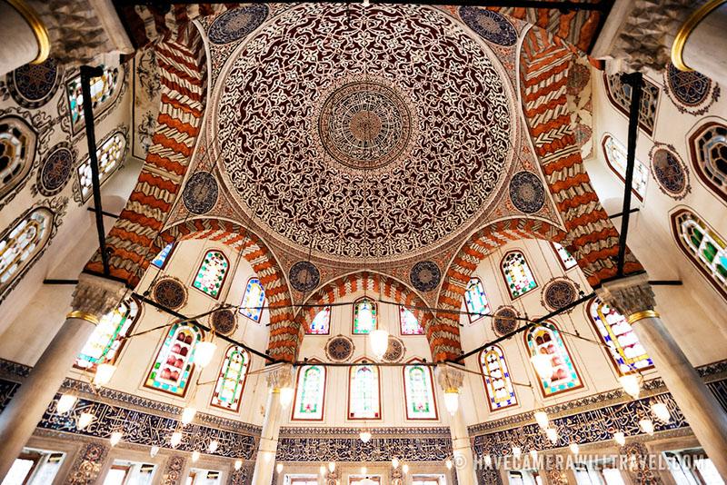 نقشی از معماری ایا صوفیه