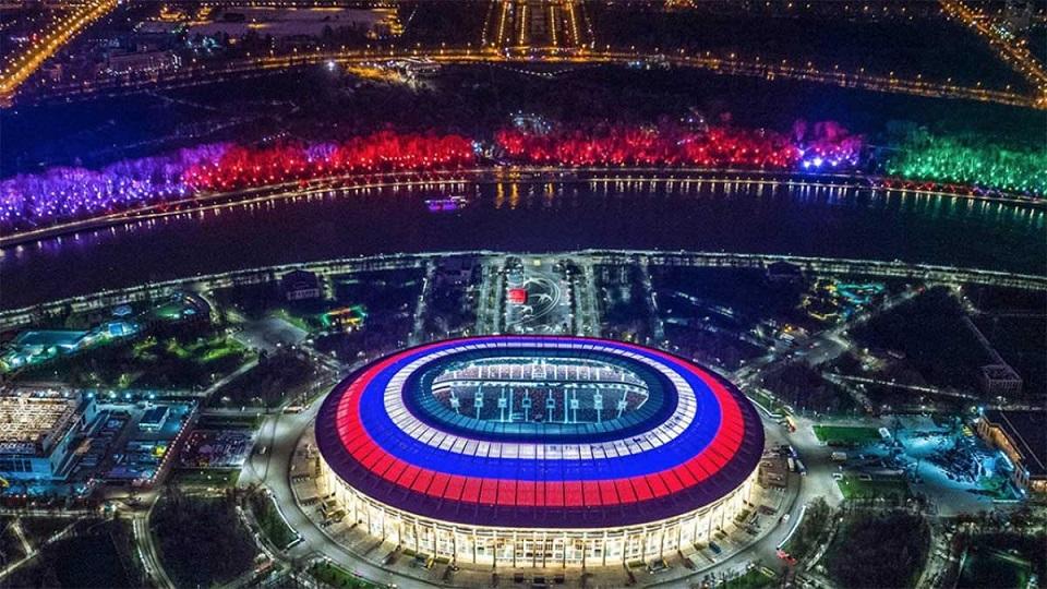 ورزشگاه های روسیه