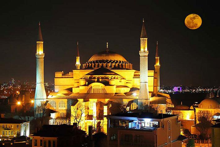 عکسی در شب و زیبایی بی نظیر