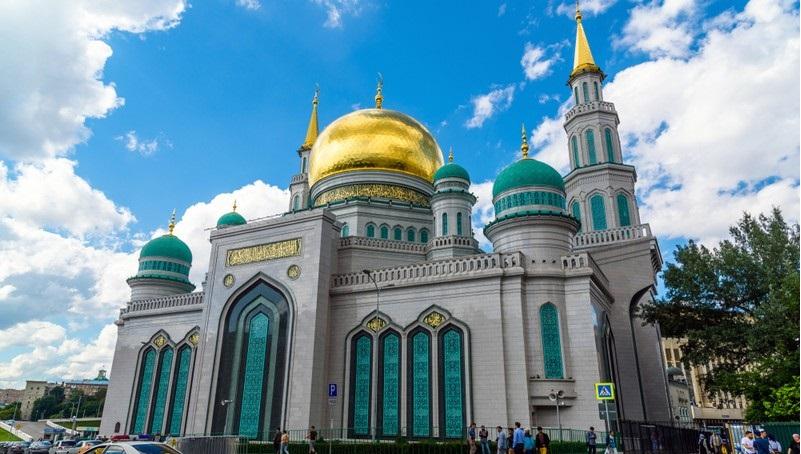 مسجد احمد قدیروف مساجد در روسیه
