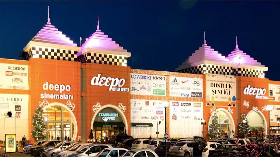 مرکز خرید اوت لت دیپو