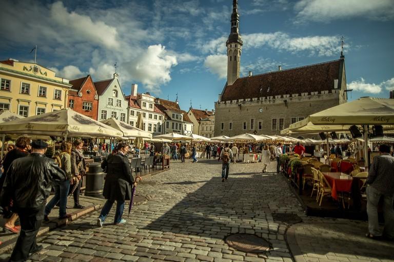 سفر از سنت پترزبورگ به تالین