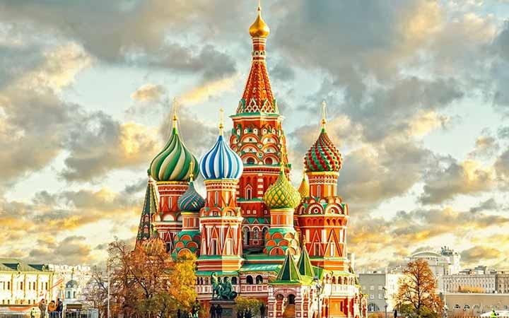 جاذبه های دیدنی و گردشگری کشور روسیه