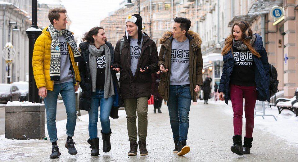 دانشجویان دانشگاه مدرسه عالی اقتصاد روسیه