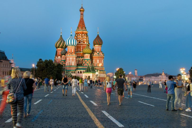 مرز زمینی روسیه 20241 کیلومتر طول دارد.