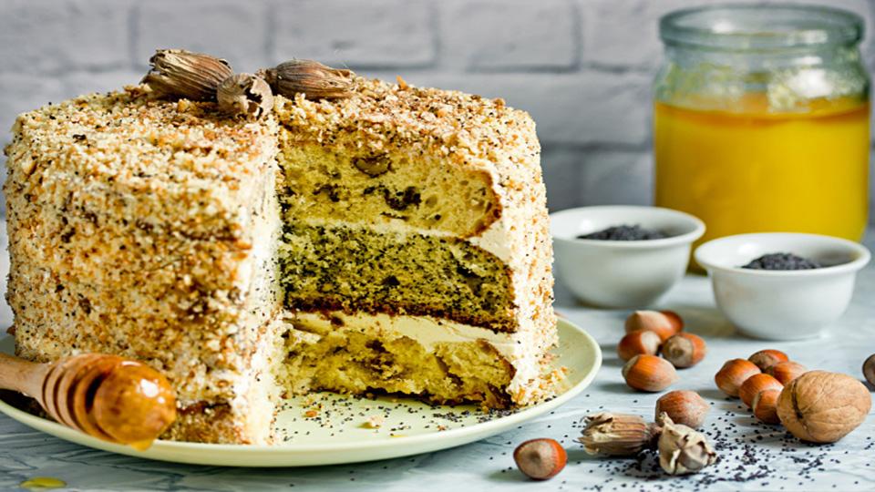 کیک Smetannik
