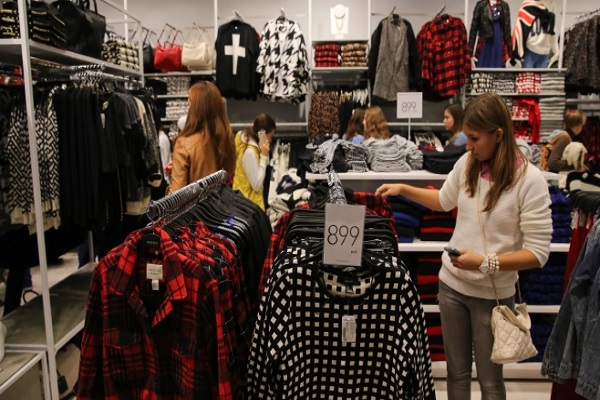 قیمت پوشاک