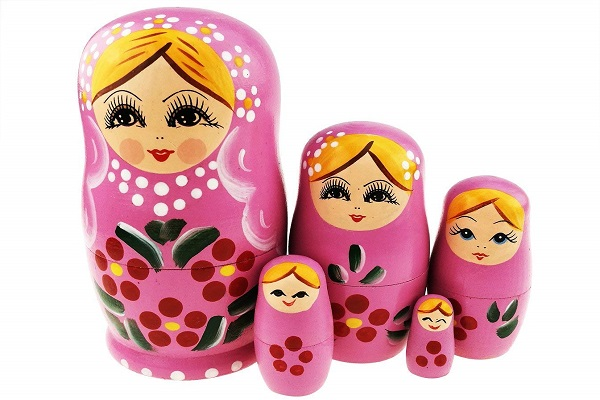 عروسک های ماتریوشکا