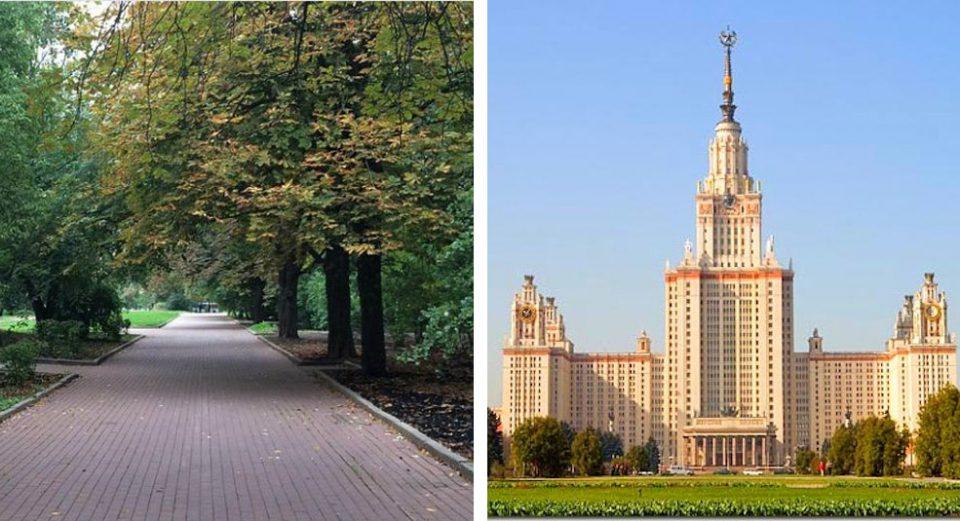 دانشگاه لومونسف موسکو