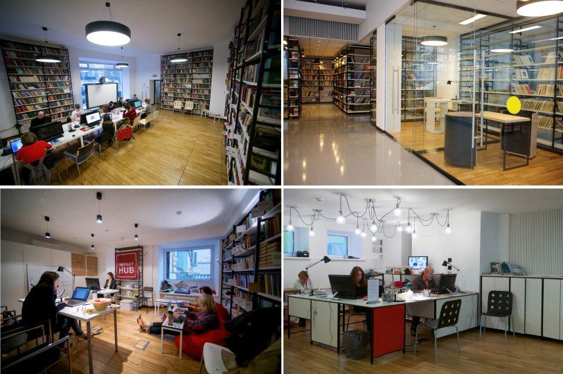 کتابخانه مدرن داستایوسکی مسکو