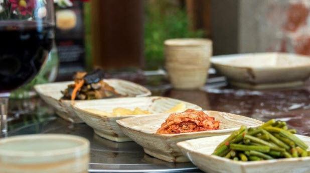 غذای کره ای در رستوران خانه کره