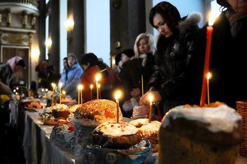 سرگرمی های عید پاک در روسیه
