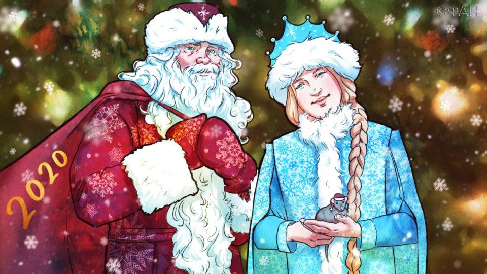 شخصیت های افسانه ای محبوب کریسمس در روسیه
