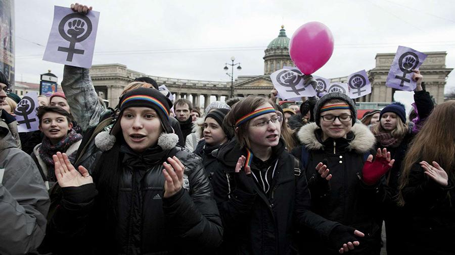 زنان در روسیه