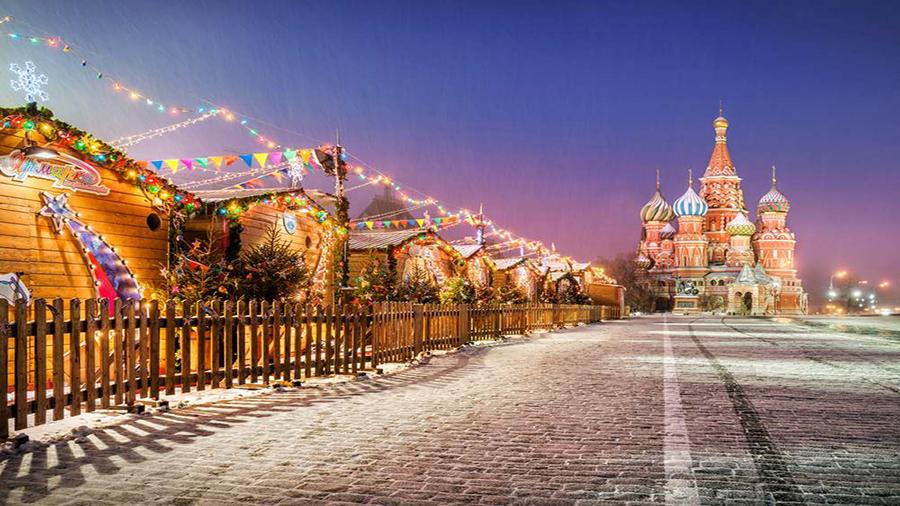 کریسمس روسیه