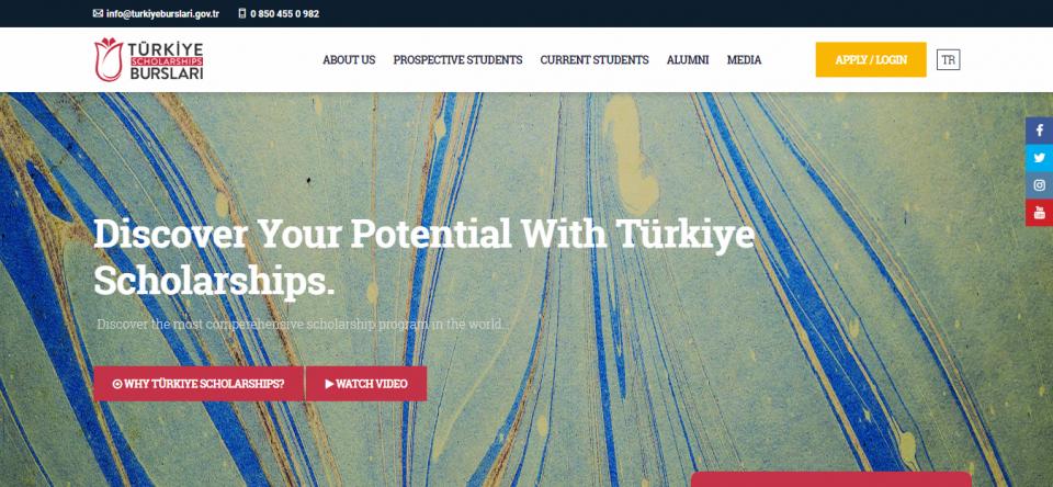 وبسایت رسمی Burslari ترکیه