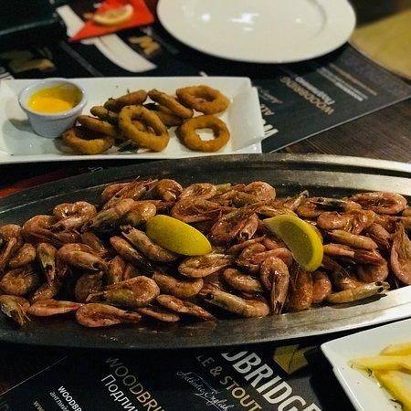 غذای دریایی در Cernovar