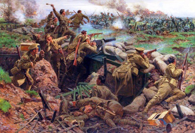 اولین نبرد های ارتش سرخ روسیه