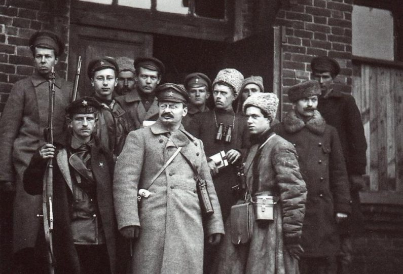 لئون تروتسکی و همراهانش