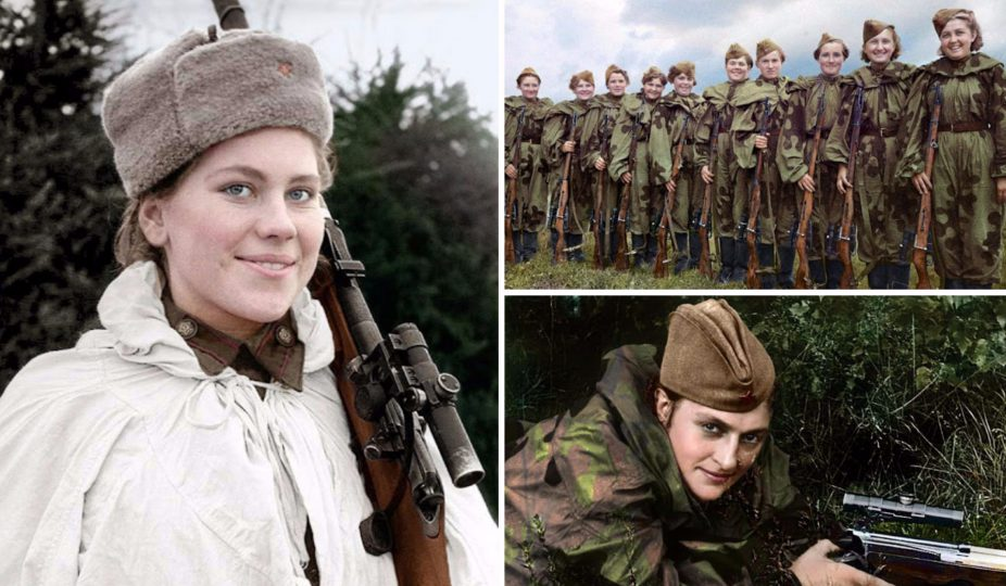 افسران زن در ارتش سرخ روسیه