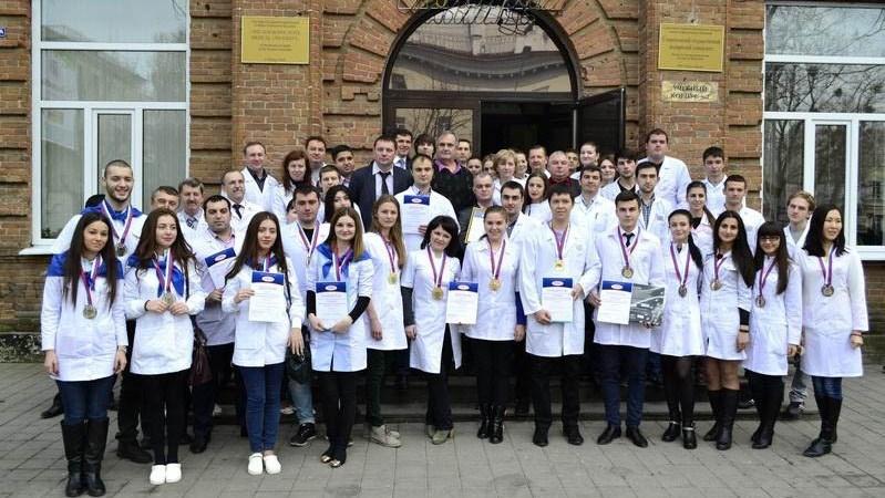 دانشجویان دانشگاه پزشکی پیروگوف