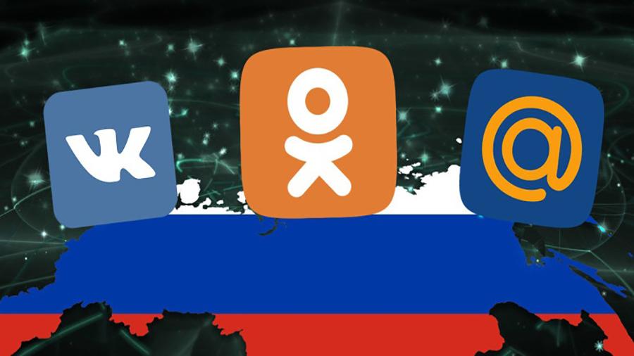 شبکه های اجتماعی روسیه