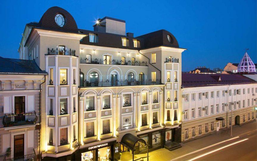 هتل Doubletree by Hilton Kazan City Center - بهترین هتل کازان