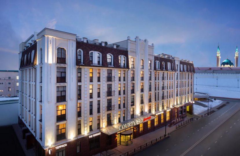 Courtyard by Marriott Kazan Kremlin - بهترین هتل کازان