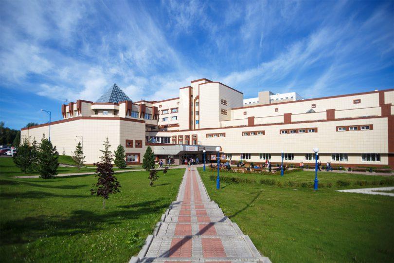دانشگاه فدرال سیبری - SibFU - محوطه دانشگاه